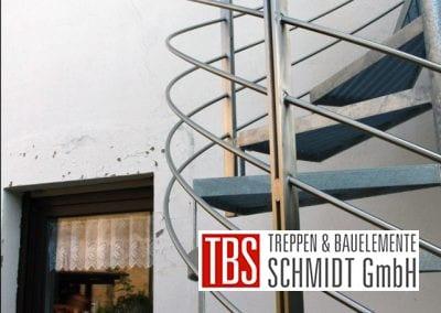 Gewendelte Außentreppe der Firma TBS Schmidt GmbH
