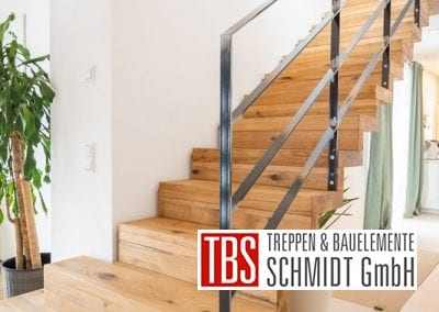 Treppengelaender Faltwerktreppe Hoechen der Firma TBS Schmidt GmbH