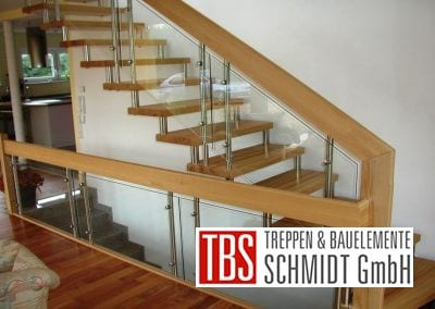 Gelaender Bolzentreppe Celle der Firma TBS Schmidt GmbH