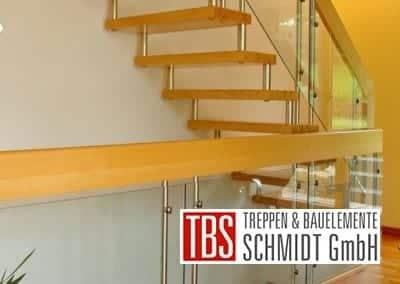 Seitenansicht Bolzentreppe Celle der Firma TBS Schmidt GmbH