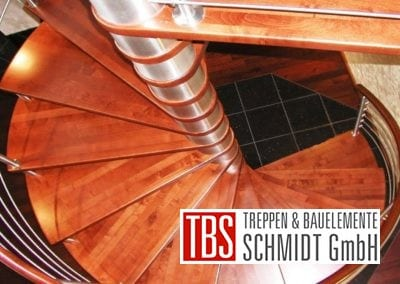 Ansicht Spindeltreppe Kirkel der Firma TBS Schmidt GmbH