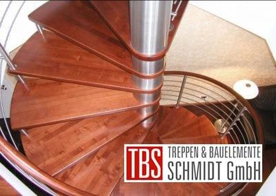 Spindeltreppe Kirkel der Firma TBS Schmidt GmbH