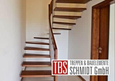Halbgewendelte Bolzentreppe Muenster der Firma TBS Schmidt GmbH