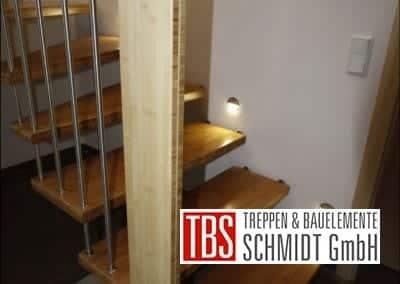 Handlauf Bolzentreppe Ratingen der Firma TBS Schmidt GmbH