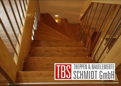 Bruestungsgelaender Bolzentreppe Ratingen der Firma TBS Schmidt GmbH
