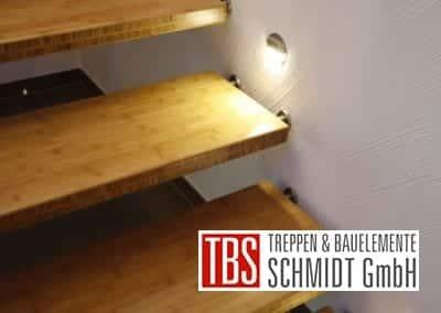 LED Beleuchtung Bolzentreppe Ratingen der Firma TBS Schmidt GmbH