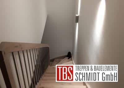 viertelgewendelte Wangentreppe Bexbach der Firma TBS Schmidt GmbH