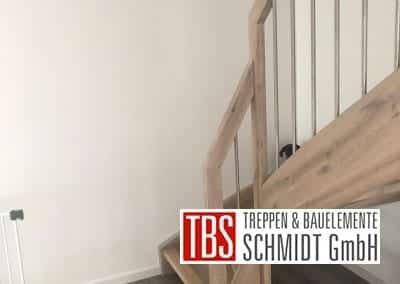 Treppengelaender Wangentreppe Bexbach der Firma TBS Schmidt GmbH