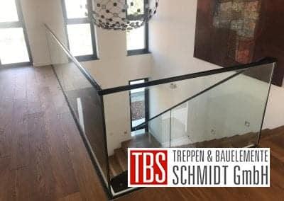 Bruestungsgelaender Faltwerktreppe Ludwigshafen der Firma TBS Schmidt GmbH