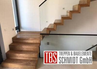 Zwischenpodest Faltwerktreppe Ludwigshafen der Firma TBS Schmidt GmbH