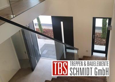 Galerie Faltwerktreppe Ludwigshafen der Firma TBS Schmidt GmbH