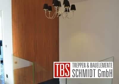 Glasgalerie Faltwerktreppe Heidesheim der Firma TBS Schmidt GmbH