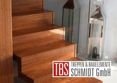 Glasgelaender Faltwerktreppe Heidesheim der Firma TBS Schmidt GmbH
