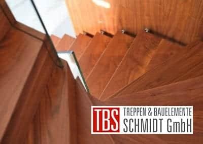 Stufen Faltwerktreppe Heidesheim der Firma TBS Schmidt GmbH