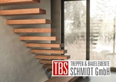 Mauerablage Kragarmtreppe Muehltal der Firma TBS Schmidt GmbH