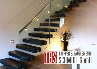 LED Beleuchtung Kragarmtreppe Bremen der Firma TBS Schmidt GmbH