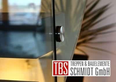 Glasgelaender Kragarmtreppe Bremen der Firma TBS Schmidt GmbH