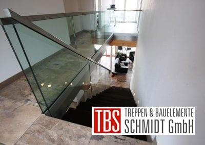 Bruestungsgelaender Kragarmtreppe Niedersachsen der Firma TBS Schmidt GmbH