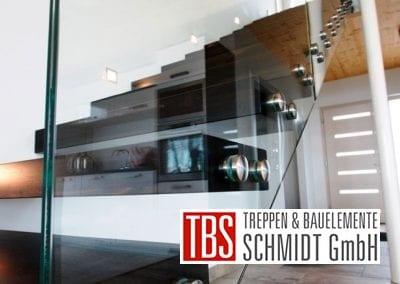 Glasgelaender Kragarmtreppe Niedersachsen der Firma TBS Schmidt GmbH