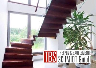 Faltwerktreppe Schwaebisch Gmund der Firma TBS Schmidt GmbH