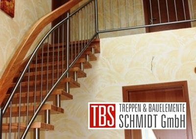 Gelaenderverlauf Wangen-Bolzentreppe Weimar der Firma TBS Schmidt GmbH