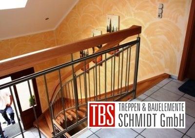 Bruestungsgelaender Wangen-Bolzentreppe Weimar der Firma TBS Schmidt GmbH