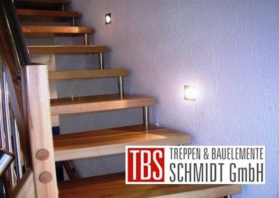 Wandbeleuchtung Bolzentreppe Aalen der Firma TBS Schmidt GmbH