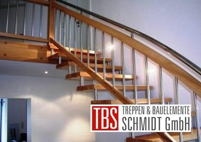 Seitenansicht Bolzentreppe Aalen der Firma TBS Schmidt GmbH