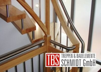 Bruestungsgelaender Bolzentreppe Aalen der Firma TBS Schmidt GmbH