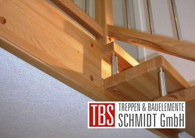 Unteransicht Bolzentreppe Aalen der Firma TBS Schmidt GmbH