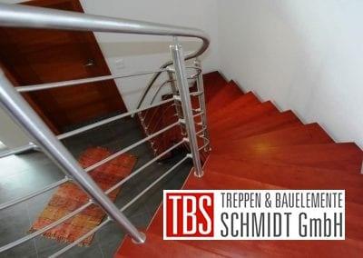Gelaender Bolzentreppe Lueneburg der Firma TBS Schmidt GmbH