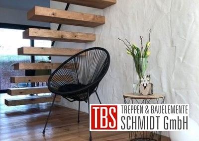 Rueckansicht Kragarmtreppe Freisen der Firma TBS Schmidt GmbH