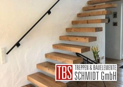 Seitenansicht Kragarmtreppe Freisen der Firma TBS Schmidt GmbH