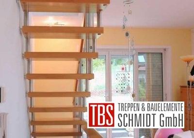 Rueckansicht Bolzentreppe Celle der Firma TBS Schmidt GmbH