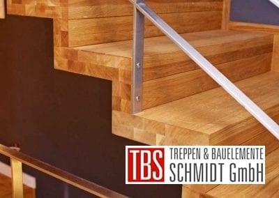 Gelaender Faltwerktreppe Karlsruhe der Firma TBS Schmidt GmbH