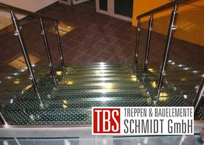 Ansicht Glastreppe Augsburg der Firma TBS Schmidt GmbH