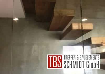 Stufen Kragarmtreppe Gersheim der Firma TBS Schmidt GmbH