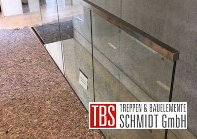 Montagebild Galerie Kragarmtreppe Kirkel der Firma TBS Schmidt GmbH