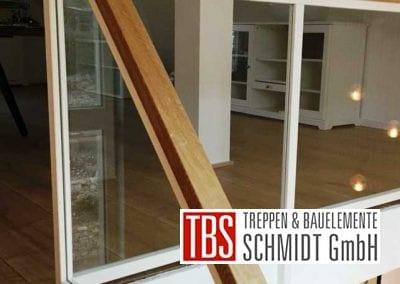 Bruestungsgelaender Mittelholmtreppe Geisenheim der Firma TBS Schmidt GmbH