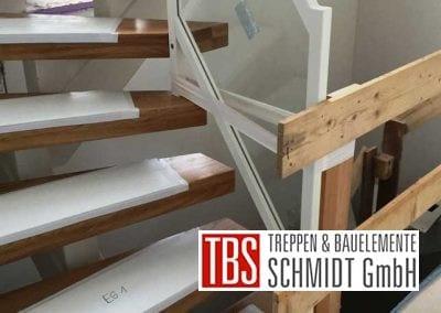 Montagebild Mittelholmtreppe Geisenheim der Firma TBS Schmidt GmbH