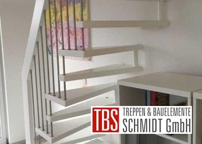 Rueckansicht Raumspartreppe Geisenheim der Firma TBS Schmidt GmbH