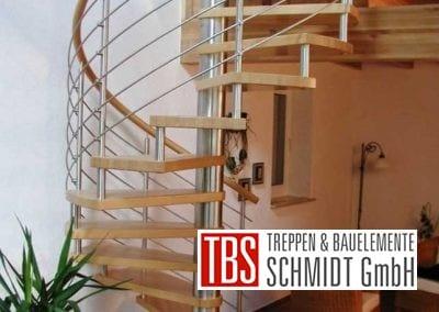 Spindeltreppe Landstuhl der Firma TBS Schmidt GmbH