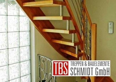 Rueckansicht Wangen-Bolzentreppe Stollberg der Firma TBS Schmidt GmbH
