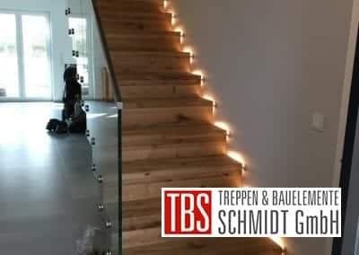 Treppenmontage der Firma TBS Schmidt GmbH