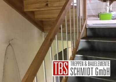 Gelaender mit Faltwerk-Treppenmontage der Firma TBS Schmidt GmbH