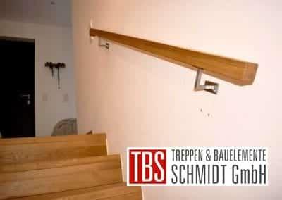 Handlauf Faltwerk- mit Kragarmtreppe Lebach der Firma TBS Schmidt GmbH