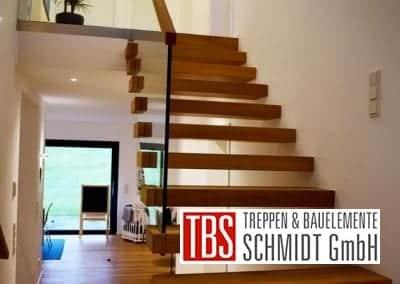 Faltwerk- mit Kragarmtreppe Lebach der Firma TBS Schmidt GmbH