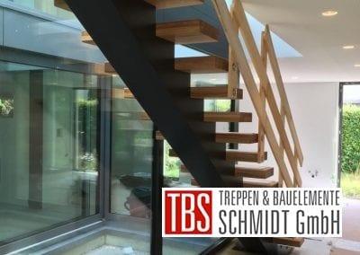 Mittelholmtreppe Treppenmontage der Firma TBS Schmidt GmbH