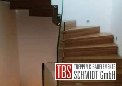 Halbgewendelte Faltwerktreppe Braunshausen der Firma TBS Schmidt GmbH