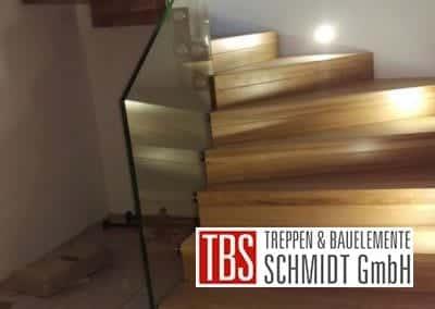Montagearbeiten Faltwerktreppe Braunshausen der Firma TBS Schmidt GmbH